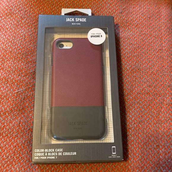 new styles 820fc f1a44 Jack Spade iPhone 8 case NWT